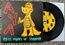 "Aya Andy's Yellow Alligator 7"" Vinyl Record - The Rodmans Screeching Weasel"