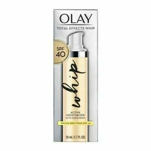 Olay Total Effects Whip Active Moisturizer with Sunscreen SPF 40