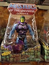 Battle Armor Skeletor rare 2nd run He-Man Masters Universe Classics Mattel motuc