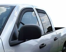 For: DODGE RAM 3500 MEGA CAB; 194845 Window Vent Visors In-Channel 2006-2008