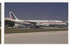 AECA Carga Douglas DC-8-54F Aviation Postcard, A650