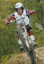 Dougie LAMPKIN Red Bull Signed 12x8 Photo Champion Trials AFTAL COA Autograph