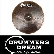 "NEW Bosphorus Master Vintage Series 22"" Ride Cymbal RRP $799 - ON SALE NOW!"