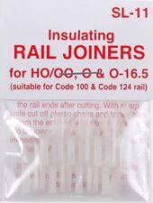 Peco SL-11 HO Code 100 Insulated Rail Joiner 12 Pack