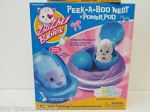 Zhu Zhu Babies - Peek-A-Boo Nest with Power Pod - Ages 4 & up