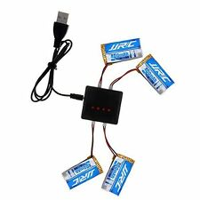 4pcs 3.7V 400mAh Li-po JJRC H31 Quadcopter Battery + 4 In 1 X4 RC Quadcopter
