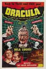 Dracula 1931 Poster 05 A2 Box Canvas Print