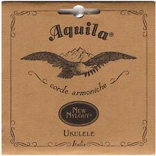 Hecho en Italia Aquila Nylgut Cuerdas de Ukelele Soprano Regular