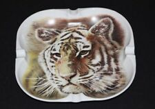 Limoges Tiger Cigar Ashtray Georges Boyer Abercrombie & Fitch France Porcelain
