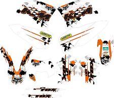 kit adhesivos ktm 2008, 2009, 2010, 2011 exc sx, sticker graphics
