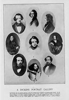CHARLES DICKENS PORTRAIT GALLERY CENTENNIAL ANNIVERSARY OF CHARLES DICKENS BIRTH