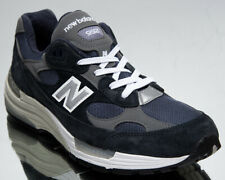 New Balance 992 Made In USA Men's Navy Grey Athletic Lifestyle Sneakers Shoes