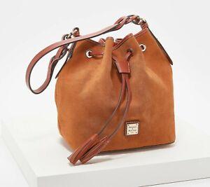 Dooney & Bourke Suede Tasha Drawstring Bag