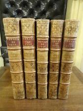 Voyage de Cook 2ème Voyage 1778 5 volumes Plein Veau Planches Gravures