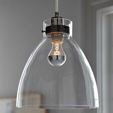 Vintage Industrial Hanging Light Glass Shade Ceiling Pendant Lamp New