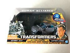 TRANSFORMERS HFTD HUMAN ALLIANCE JAZZ HUNT FOR THE DECEPTICONS AUTHENTIC