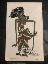 1923 Batavia Netherlands Indies Postcard Cover To Los Galos CA Usa Shambon Tro