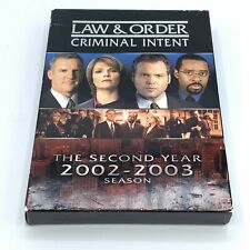 Law & Order: Criminal Intent - The Second Year (DVD, 2006, 5-Disc Set)