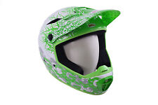 BELL DROP DOWNHILL BMX BIKE CEDRIC GRACIA  FULL FACE FIBREGLASS HELMET 59-63cm
