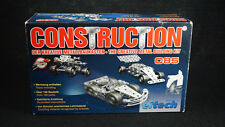 Eitech Metal Building Construction Kit C85 Germany Complete Erector Set Race Car