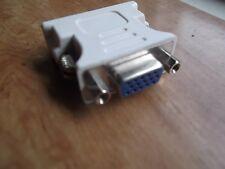 DVI-I 12+5 Pin Male To 15 Pin VGA Female Adapter Convertor