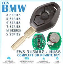 Fits BMW 3 BUTTON REMOTE KEY 3 5 6 7 E36 E38 E39 E46 Series Z3 Z4 X3 323Ci 328Ci
