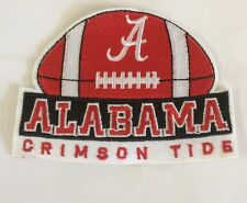 "Alabama Crimson Tide Vintage Embroidered Iron On Patch 4""x 3"""