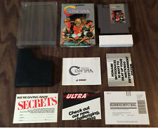 Contra (Nintendo, NES) Authentic - Complete in Box - Tested