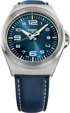 Traser H3 P59 Essential M Blue Men's Watch 108214 Analogue Leather Blue