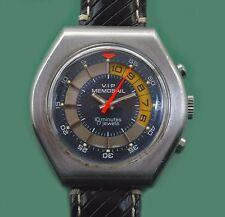 VINTAGE 70s Yacht a Vela RACE CONTATORE Cronografo dei VIP MEMOSAIL VALJOUX mov-t
