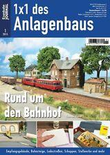 Eisenbahn Journal - Rund um den Bahnhof  - 1x1 des Anlagenbaus 1-2015