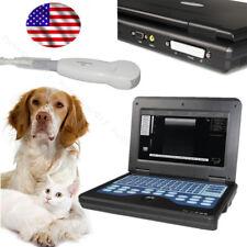 Veterinary Ultrasound Scanner Machine VET Notebook Scanner 5.0Mhz Micro Convex