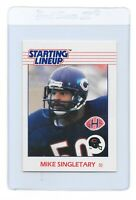 MIKE SINGLETARY 1988 Starting Lineup Chicago BEARS KENNER NFL Football CARD