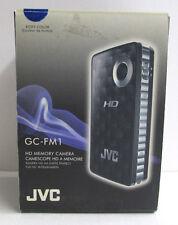 JVC PICSIO GC-FM1A HD Camcorder (Brilliant Blue) New Open Box