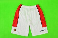 1997 Umbro Norway Match Worn Home Shorts SIZE M (adults)