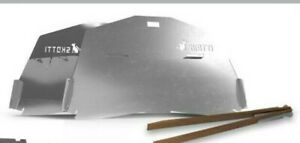 Deckel für SKOTTI Grill, Edelstahl steckbar, Ofen-/Toastfunktion.+Windschutz