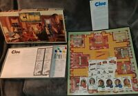 CLUE Parker Brothers Classic Detective Board Game 1993 COMPLETE French & English