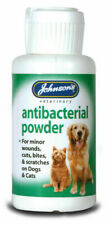 Johnsons Wound Antiseptic Antibacterial Powder 20g - Soothing Minor Cat Dog