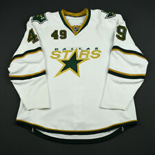 2007-08 Paul Szczechura Dallas Stars Game Issued Reebok Hockey Jersey! MeiGray