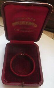 Longines Pocket Watch Presentation Box 11,3 cm. x 8,7 cm. x  2,4 cm. aside