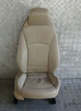 BMW Z4 Series E85 Heated Front Right O/S Beige Leather Driver Side Seat Memory