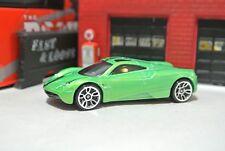 Hot Wheels Pagani Huayra Loose - Green - 1:64