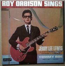 ROY ORBISON-JERRY LEE LEWIS-TOMMY ROE    ORIGINAL 1965 UK  compilation vinyl LP