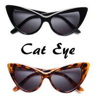 Polarized Cat Eye Sunglasses Womens Retro Vintage Classic 60s Fashion