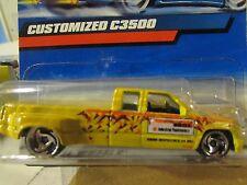 Hot Wheels Customized C3500 Yellow