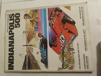 Vintage 1977 Indianapolis 500 Official Program, Indy, AJ Foyt's Ford Coyote Win