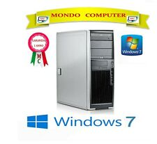 COMPUTER HP XW 4600 / CPU INTEL DUAL CORE 3,0 GHZ / 8 GB RAM / WINDOWS 7 PRO