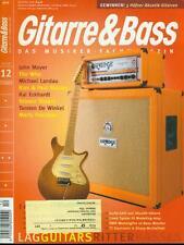 Gitarre & Bass 2006/12 (John Mayer)
