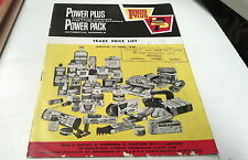 1968 POWER PLUS Automotive Products Catalogue Price List