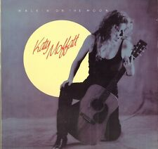 KATY MOFFATT Walkin' on the Moon LP 1989 Rounder Canada